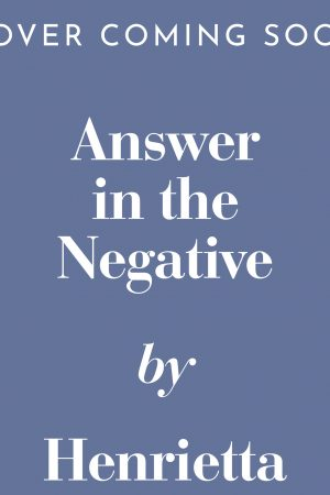 Answer in the Negative